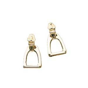 Medium Stirrup Earrings
