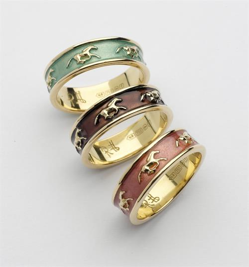 Galloping Horse Rings