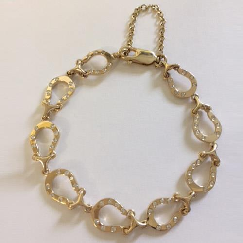 Horseshoe Diamond Bracelet