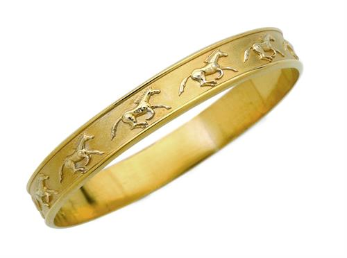 Galloping Horse Bangle