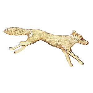 Limited Edition Running Fox Brooch