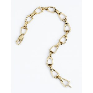 Stirrup Bracelet - Small Links
