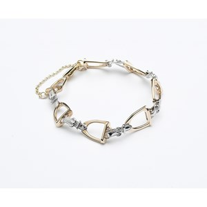 Stirrup Bracelet - Medium Links