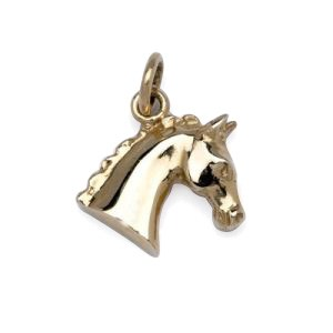 Horse Head Charm or Pendant