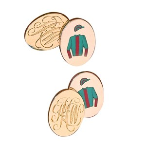 Jockey Colours Cufflinks