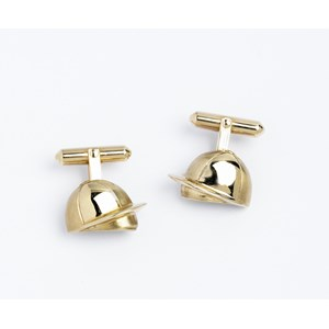 Jockey Cap Cufflinks