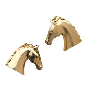 Horse Head Stud Earring