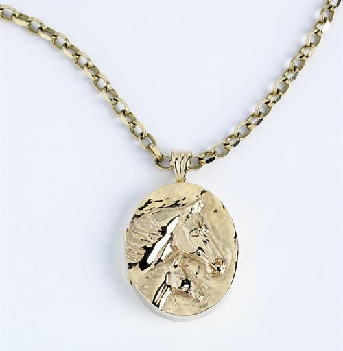 Limited Edition Mare & Foal locket